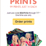Snapfish -99 Photo Prints For Only 99 Cents Online Promo Code