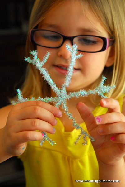 snowflake-pipe-cleaner-craft