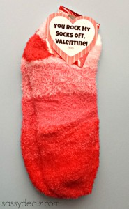 sock valentine gift