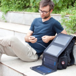 Anker 14W Solar Panel Foldable Dual-port Solar Charger 45% Off!