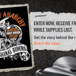 Request a Free Sons of Anarchy Sticker