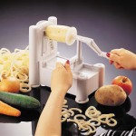 Paderno World Cuisine Tri-Blade Spiral Vegetable Slicer 40% Off!