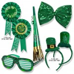 St. Patrick's Day Accessories: Glasses, Bow Tie, Pin, Headband, & Horn Just $12.95!