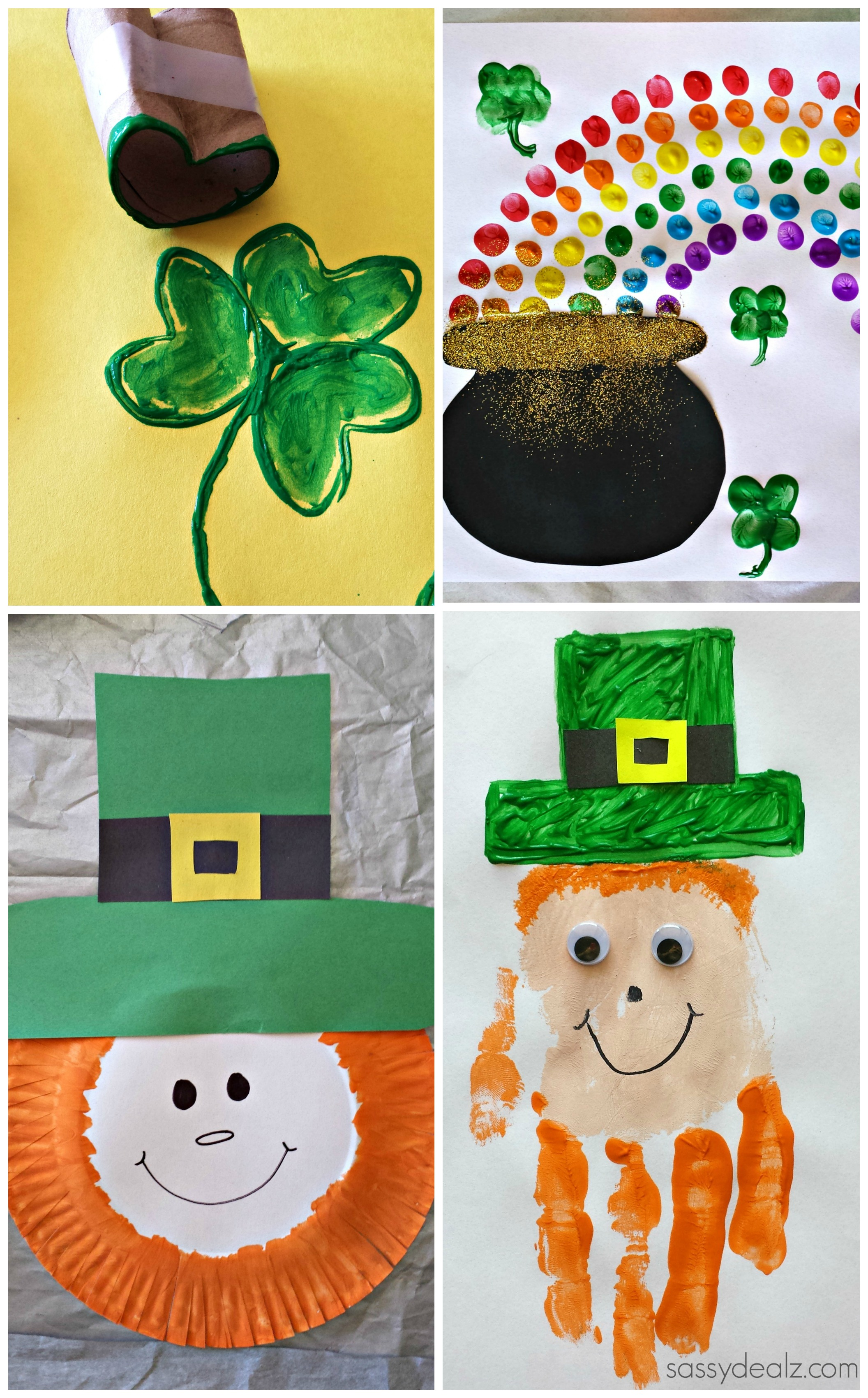 Easy st patrick 39 s day crafts for kids crafty morning for St patrick day craft ideas