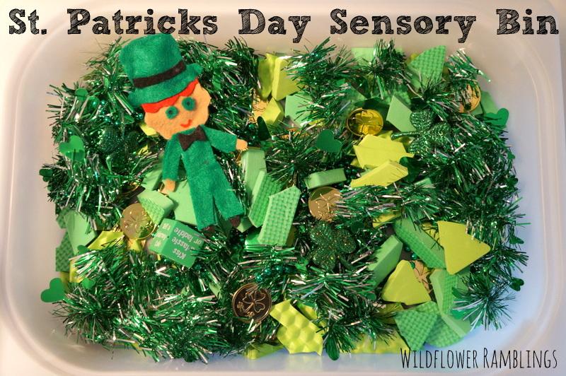 st-patricks-day-sensory-bins