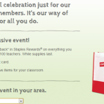 Staples – FREE Red Shopping Bag For The First 100 Teachers (For Teacher Appreciation Day- 8/3 ONLY!)