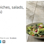 Starbucks- Half off Lunch (Sandwiches, Salads, Paninis, & Bistro Boxes) from Google Offers (Thru August 10th)