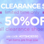 Steve Madden – Extra 50% Off Clearance Shoes w/ Online Promo Code (Thru 8/15)