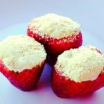 Easy Cheesecake Stuffed Strawberries