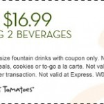 Souplantation and Sweet Tomatoes Printable Coupon- 2 Dinners for $16.99! Thru July 2nd