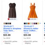 20% Off Tevolio Bridesmaid Dresses at Target.com + Free Shipping (Thru 8/24)