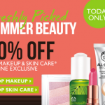 The Body Shop- 40% off ALL Makeup and Skin Care Online (TODAY ONLY!)