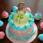 Princess and The Frog Birthday Cake and Cupcake Ideas