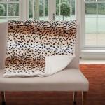 Fleece/Sherpa Throw Blankets (Tiger, Cheetah, Zebra Print) Only $17.99 Shipped!