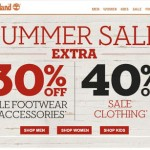 Timberland – Extra 30% Off Sale Footwear & Accessories and 40% off Sale Clothing + Free Shipping