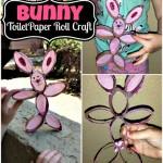 DIY: Toilet Paper Roll Bunny Rabbit Craft For Kids