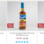 6 Bottles of Torani Syrups for ONLY $20 at World Market with Printable Coupon/ Promo Code (Reg $48)