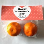 Non-Candy Valentines Day Treat For Kids (Cuties Clementines)