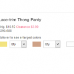 20% Off Victoria's Secret Clearance Bra and Panties Promo Code