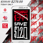 Virgin Mobile Galaxy S3 Phone Just $279.99 (Reg $399!) TODAY ONLY (10/29)