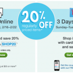 Walgreens: 20% Off Regular Price Items w/ Printable Coupon (Exp 2/18)