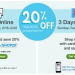 Walgreens: 20% Off Regular Price Items w/ Printable Coupon (Exp 2/18)