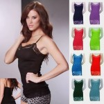 8-Pack of Wet Seal Long Lace Camisoles Only $29.99 + Free Shipping!