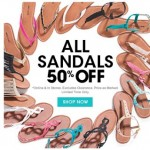 Wet Seal – 50% Off ALL Sandals Online and In-Stores (LIMITED Time Only!) +BOGO 1/2 Off Sale