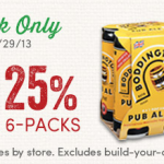 World Market- Get 25% off 4 or 6-Packs of Beer (Valid August 23rd-29th Only!)