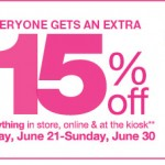 Kohls 15% Off Promo Code Online and In-Stores