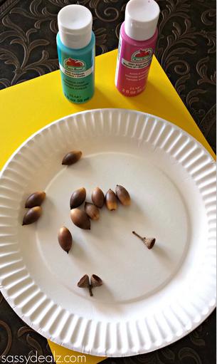 acorn-flower-craft