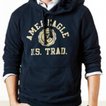 American Eagle Men's Heritage Fleece Hoodie Only $11.99 Shipped