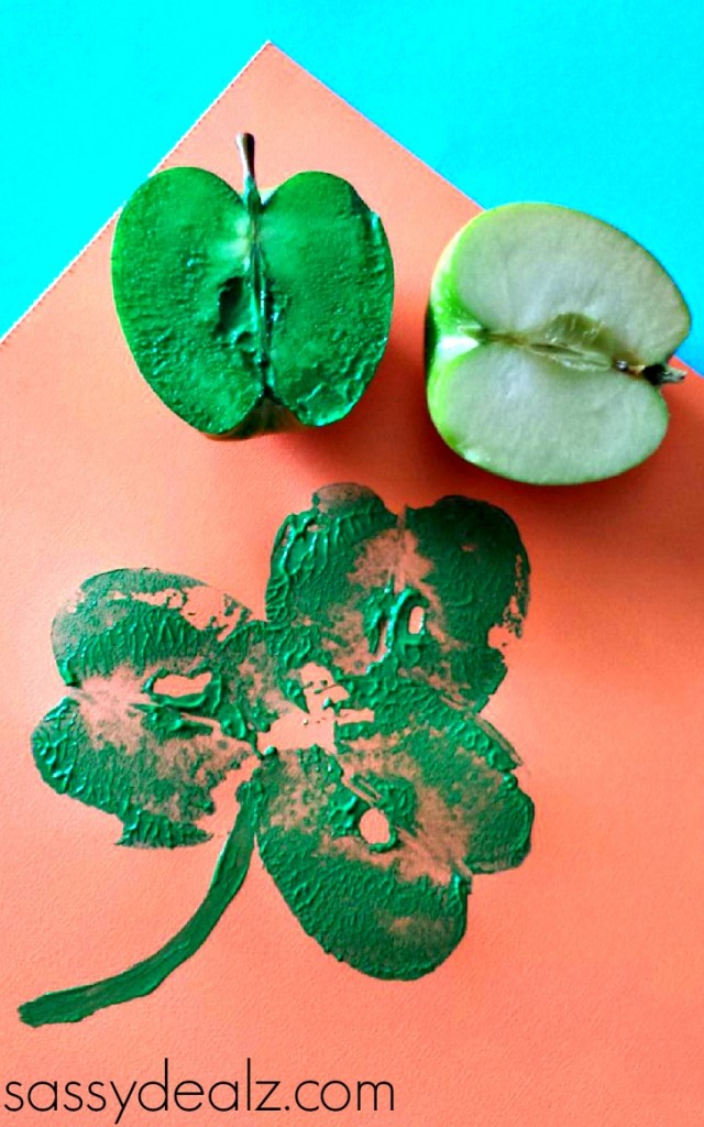 apple-shamrock-craft-kids