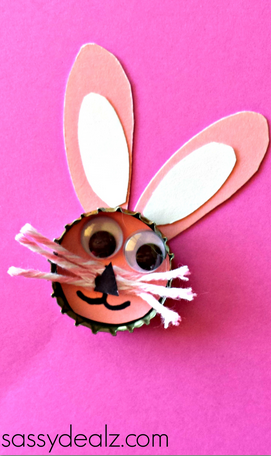 bunny-bottle-cap-craft