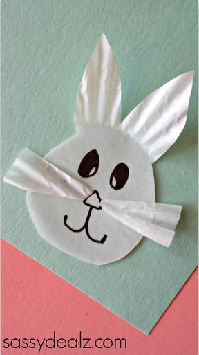 bunny-cupcake-liner-easter-craft