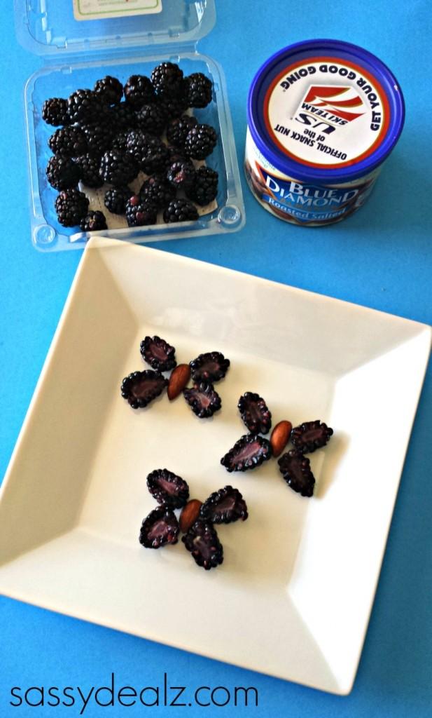 butterfly-blackberries