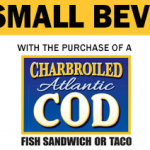 Carl's Jr Coupon: Get a Free Drink w/ Purchase of Fish Sandwich or Taco
