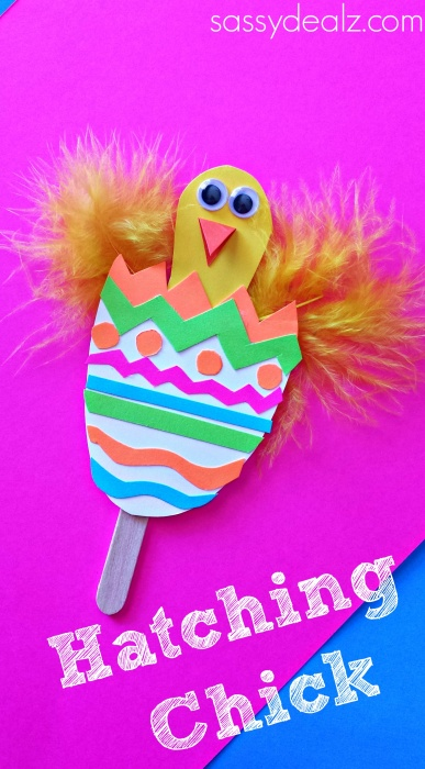 Pop Up Easter Chick