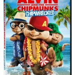 Alvin & the Chipmunks: Chipwrecked DVD Only $3 Shipped