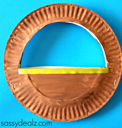 easter-basket-craft-easter & 3D Paper Plate Easter Basket Craft for Kids - Crafty Morning