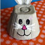 Egg Carton Bunny Craft for Kids