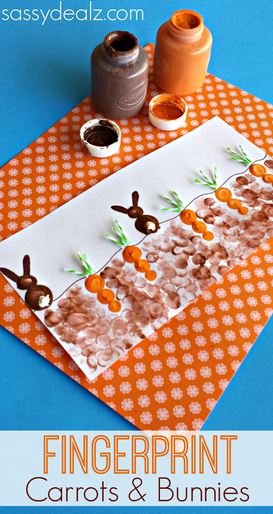 fingerprint-carrot-and-bunny-craft