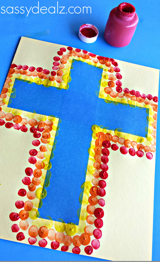 fingerprint-cross-craft-for-kids