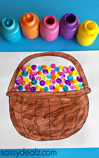 fingerprint-easter-basket-craft