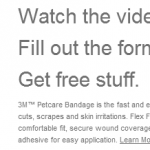Free Sample of 3M Petcare Bandages