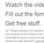 Free Sample of 3M Petcare Bandages