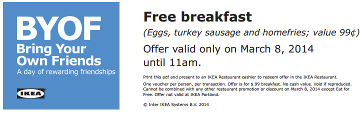 free-breakfast-ikea