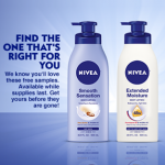 Free Sample of Smooth Sensation or Extended Moisture Lotion