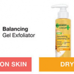 Free Sample of Garnier Balancing Gel Exfoliator or Nourishing Cleansing Oil