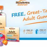 Free Sample of Sundown Naturals Adult Gummies